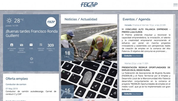 Design website customized for: FECAP - neitmedia